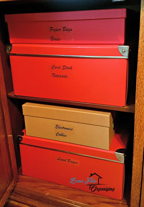 Home Office Organizing/Custom Labeling